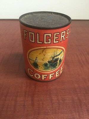 Original Vintage FOLGERS COFFEE Puzzle Give Away Promotion Cardboard 3.5X2.5""