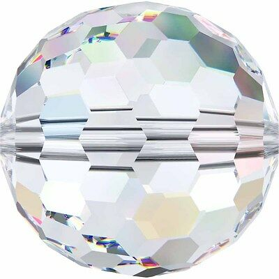 SWAROVSKI CRYSTAL DISCO BALL FACETED BEADS *5003 *6-14mm *ALL COLOURS *GENUINE