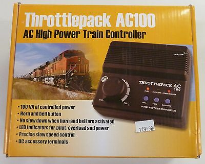 MRC Throttle Pack AC100 O/S Gauge 100 Watt Power Pack 1311