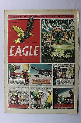 Eagle #48 March 9th 1951 G/VG Vintage Comic Golden Age Dan Dare Cartoon Strips
