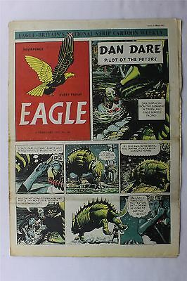 Eagle #44 February 9th 1951 VG Vintage Comic Golden Age Dan Dare Cartoon Strips