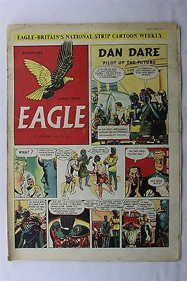 Eagle #40 January 12th 1951 G/VG Vintage Comic Golden Age Dan Dare Cartoon Strip