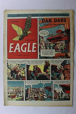 Eagle #39 January 5th 1951 VG- Vintage Comic Golden Age Dan Dare Cartoon Strips