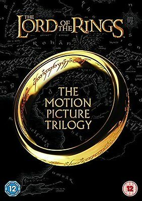 Lord Of The Rings 1-3 Trilogy DVD Box Set - New/Sealed
