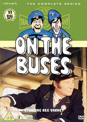 On the Buses - Complete Collection Dvd Box Set New
