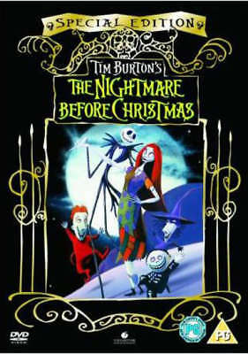 The Nightmare Before Christmas  Special Edition Dvd New/Sealed