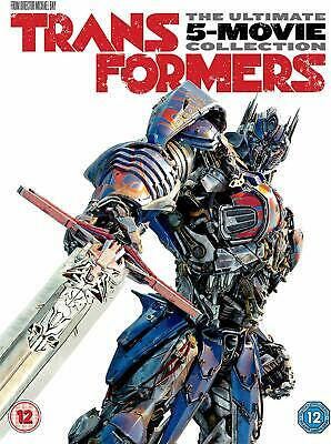 Transformers 1-5 Box Set [DVD] 5-Movie Collection Includes Age Of Extinction New