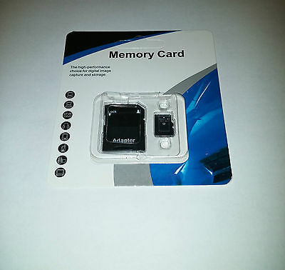 64GB Micro SD SDXC Memory Card TF Flash Class 10 FREE SD Adapter Retail Package