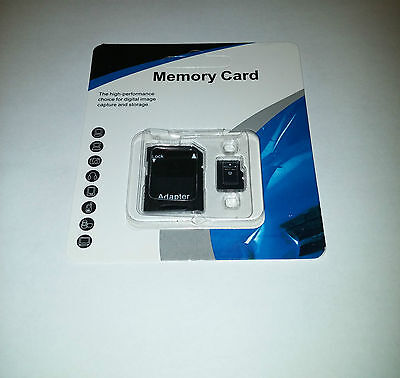 32GB Micro SD SDHC Memory Card TF Flash Class 10 FREE SD Adapter Retail Package