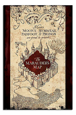 Harry Potter The Marauders Map Poster New - Maxi Size 36 x 24 Inch