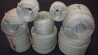 Rope Synthetic Hemp Hempex Polyhemp For Decking Garden & Boating 6mm - 36mm