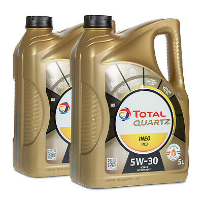 10 (2x5) Liter TOTAL QUARTZ INEO MC3 5W-30 Motoröl MB 229.31/ 229.51/ 229.52