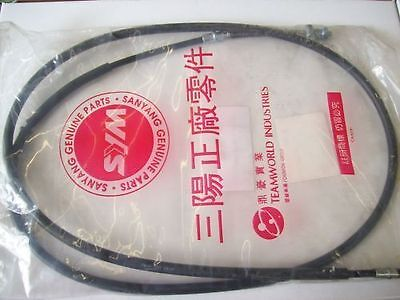 SYM Sanyang Super Fancy 50 Brake cable new! orig. ET: 43450-T40-000
