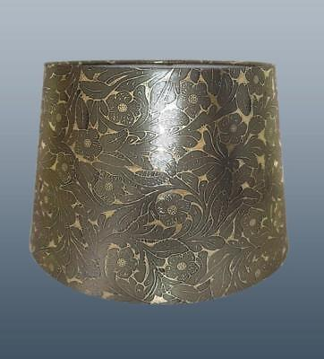 Gold Foile Empire Drum Lampshade Ceiling Light Pendant or Table Lamp Shade