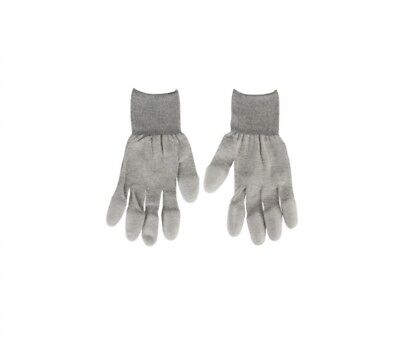 Guantes Antiestaticos Esd Grises Antiestatic Gloves Grey
