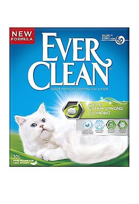 Ever Clean Extra Strong Clumping Scented Cat Litter 10 Litre