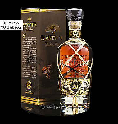 PLANTATION Rum Ron XO Extra Old 20th Anniversary Barbados - in Geschenkpackung