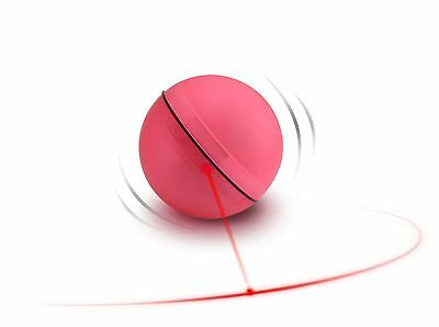 D&D 699-425947 Cat and Dog Toy Adventure Magic Led-Ball Diameter 6.4cm Red
