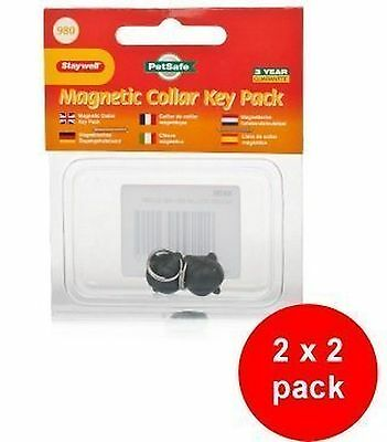 Staywell 980 Collar Key 2 x 2 pack (4 spare keys)