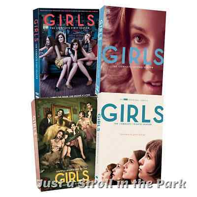 Girls: Lena Dunham TV Series Complete Seasons 1 2 3 4 Box / DVD Set(s) NEW!