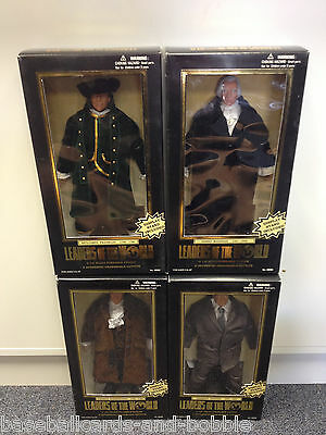 LEADERS OF THE WORLD Ben Franklin George Washington Herbert Hoover Action Figure