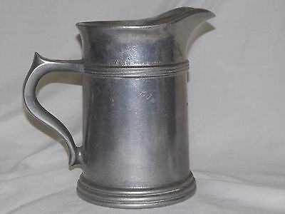 Wilton Armetale Large Pitcher with Ice Lip - Plough Tavern