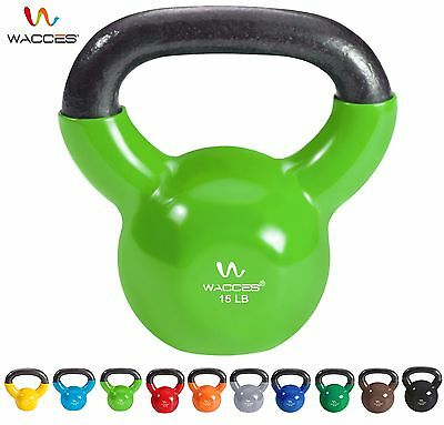 Wacces Kettlebell for Cross Training Home Exercise Workout All LBS
