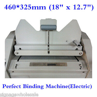 "Best Quality 460*325mm (18"" x 12.7"") (Electric) Perfect Binding Machine"