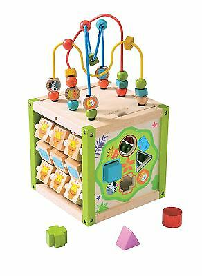 EverEarth My first big activity cube - bead maze, sorter & abacus mutli-fun