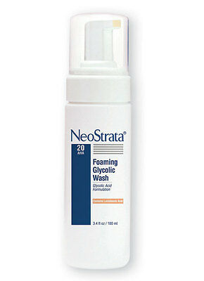 New 100ml NeoStrata Glycolic Facial Wash Foaming Soap Free Antioxidant Cleanser
