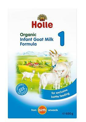 New 400g Holle Infant Goat Milk Formula Organic Baby Feeding From Birth