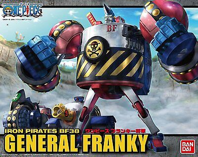 Bandai ONE PIECE General Franky Non scale Kit 4543112851864