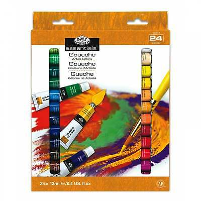 Royal & Langnickel Essentials Gouache 24 x 12ml Piece Set