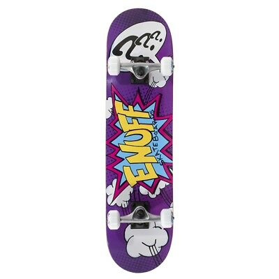 Enuff Pow Mini Complete Skateboard, Purple
