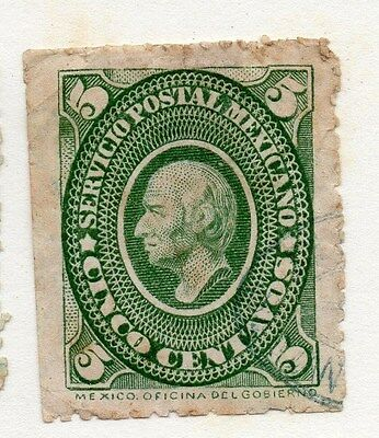 Mexico 1884 Early Issue Fine Used 5c. 076450