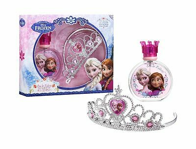 Disney Frozen Eiskönigin Geschenk-Set: Eau de Toilette Spray 100 ml + Diadem