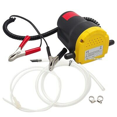 Voche® 60W Portable 12V Electric Fluid Extractor Oil Diesel Transfer Siphon Pump