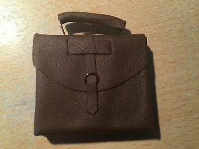Dolls House Miniature 1/12th Scale Brown Briefcase D1198