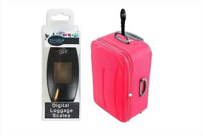 Luggage Scales Digital Weight Cases Portable Holidays Travel Hanging Black