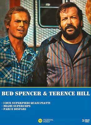 Bud Spencer & Terence Hill Cofanetto (3 Dvd) FEDERAL VIDEO