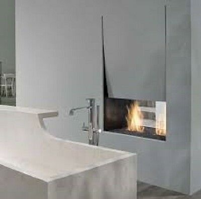 Antonio Lupi single faced fireplace Canto Del Fuoco Series single faced fireplac