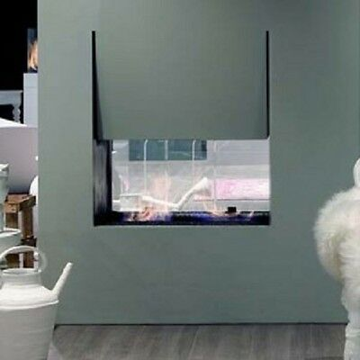 Antonio Lupi double faced fireplace Canto Del Fuoco Series double faced fireplac
