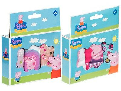Peppa Pig Knickers Briefs Pants Underwear Set Multi Pack Childrens Size 2-8 Year