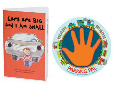 Original Parking Pal Child Safety Car Magnet and Safety Around Vehicles Book