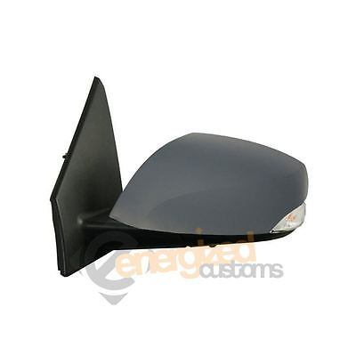Renault Megane Mk3 2008-2016 Electric Primed Wing Door Mirror Passenger Side N/S