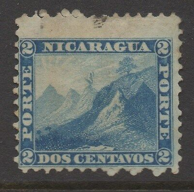 NICARAGUA;  1860s early classic Perf issue Mint unused 2c. value