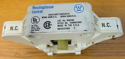 Westinghouse WM16H Auxiliary Contact
