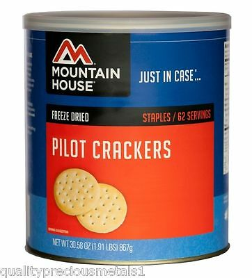 1 - Can - Pilot Crackers - Mountain House Freeze Dried Emergency Food Supply