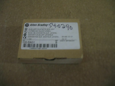 ALLEN BRADLEY 100-SA01 SerB SIDE MOUNT AUXILIARY CONTACTS 1NC