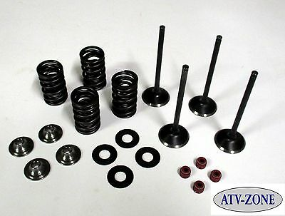 Stainless Steel Intake and Exhaust Valves with Spring Kit Kawasaki KX 250F 03-15